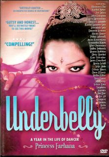 Underbelly The Life of Dancer Princess Farhana DVD