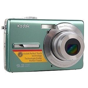 "Kodak M320 M 320 EasyShare Digital Camera 9 2 MP Green 2 7"" LCD 3X Zoom"