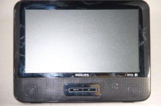 "Philips PT902 37 9"" Portable Digital Widescreen HD LCD TV w FM Radio Tuner"