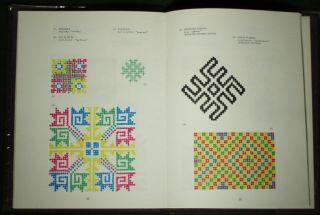 Book Thai Yao Embroidery Design Patterns Ethnic Folk Art Asian Minority Textile