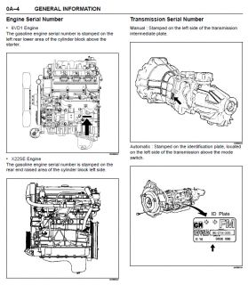 Vauxhall Frontera B Owners Manual