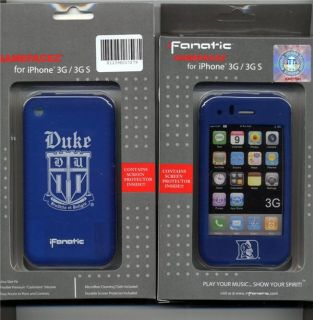 Duke Blue Devils Cashmere iPhone 3G 3GS Case Skin Cover