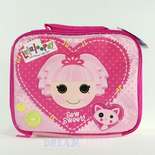 Lalaloopsy Jewel Sparkles Polka Dot Insulated Lunch Bag Box Case Girls School