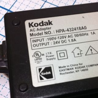 Newkodak 24VDC 1 8A Power Adaptor Model HPA 432418A0