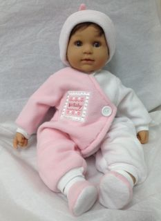 Berenguer La Baby Nursery Brunette Doll New Out of The Box