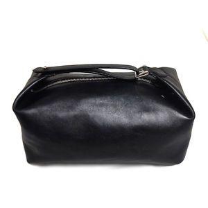 RALPH LAUREN BLACK LABEL   Leather Shaving Bag Kit   Travel Case   Made in Italy