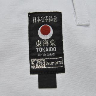 Tokaido Karate Gi Tsunami JKA Kata 12oz