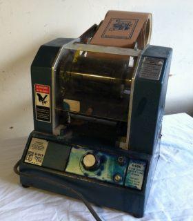 Sohn Little Giant 6400 Flexographic Buttcut Label Printer Maker RARE Free SHIP N