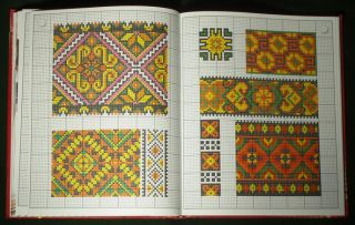 Book Ukrainian Hutsul Embroidery Folk Costume Textile Pattern Ethnic Peasant Art