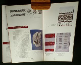Book Romanian Peasant Textiles Rural Weaving Ethnic Folk Costume Flax Linen Art