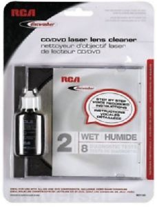 RCA Discwasher RD1142 CD DVD Laser Lens Cleaner