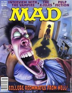 Mad Magazine 335 Interview with The Vampire x Files Pulp Fiction RoomMates