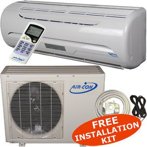 Ductless Mini Split Air Conditioner AC Heat Pump A C Dehumidifier Heater