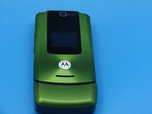 Unlocked Motorola W510 Green GSM Cellular Flip Phone