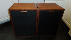 Vintage Klipsch Heresy HWO Loudspeakers Speakers Consecutive Serial Numbers