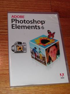 Adobe Photoshop Elements 6 for Mac Disc w Serial Number RARE Software