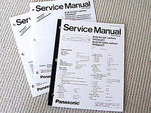 Panasonic DVD RV32 Player Service Manual 2 New