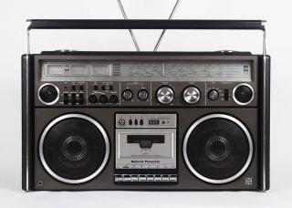 Vintage National Panasonic Ghettoblaster Boombox RS 4360DFT