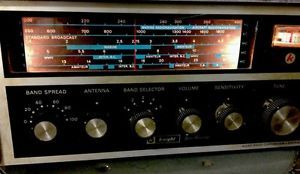 Vintage Knight Ham Radio Star Roamer Works Marine Aircraft Bands Allied Radio