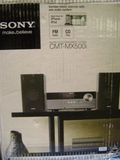 Sony iPod iPhone Speaker Dock Desktop Micro Shelf System