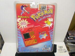 Nintendo Pokemon Pokedex Tiger Electronics Handheld Game RARE