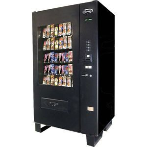 Ice Cream Vending Machine Frozen Pizza Cold Food Snack Candy Combo w Changer