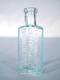 Sample Baker's Great American Specific Berwick Me Maine Medicine Bottle