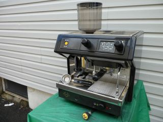 Automatic Commercial Espresso Machine with Coffee Grinder