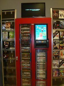 DVD Vending Machine Blu Ray Service Start Up Business Plan New