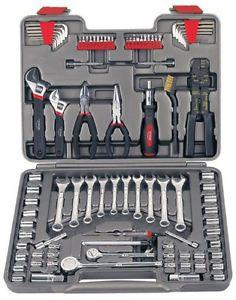 Apollo Precision Tools 95 Piece Mechanics Tool Kit Car Auto Emergency Socket