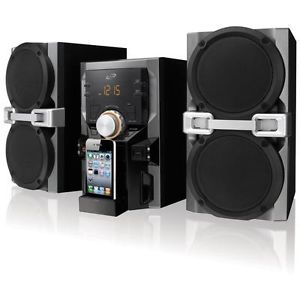 iLive iPod iTouch iPhone Dock Home Music Speaker System Charger CD Player Radio