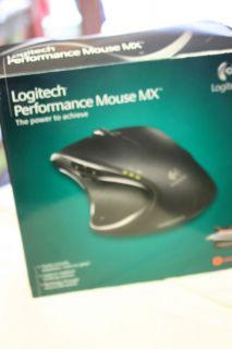 Logitech Wireless Performance Mouse MX New Windows Mac Rechargeable