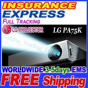 LG PA75K Mini Beam Projector HD TV Tuner Smart 3D LED DLP WiFi DTV Antenna