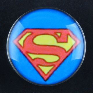 Batman Superman Logo Stainless Steel Ear Plug Flesh Tunnel Stretcher Expander