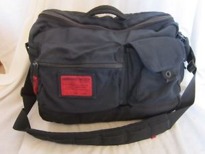 Abercrombie Fitch Messenger Blue Duffle Laptop Bag