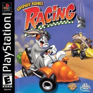 Looney Tunes Racing Sony PlayStation Game PS1 PS2 PS3 Black Label Complete