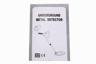 MD 3010II Metal Detector Gold Digger Treasure Hunter Deep Volume Large