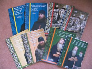 Details about DUCK DYNASTY SCHOOL SUPPLIES FOLDERS NOTEBOOKS NEW