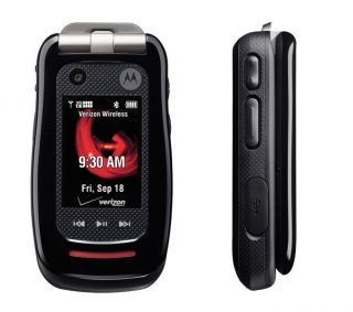 Details about Mint Motorola V860 Barrage Rugged Flip Phone for Verizon