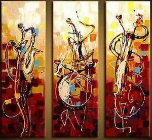 Modern Abstract Huge Oil Painting Canvas