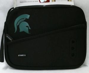 Official NCAA Michigan State Trojans Netbook Breathe Sleeve iPad Kindle Nook