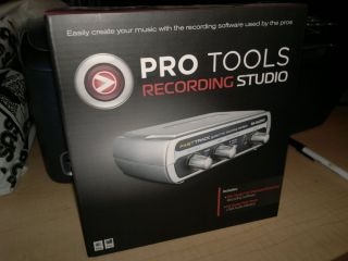 Pro Tools Recording Studio Software USB Interface