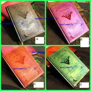 New The Vampire Diaries Elena Damon Stefan Diary Journal Notebook Vintage Style