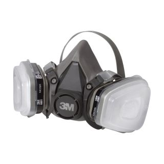 3M Low Maintenance Half Mask Organic Vapor P95 Respirator Assembly Medium Paint