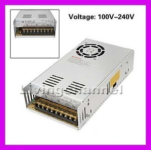New Universal AC to DC Converter 12V 40A 480W Switching Power Supply Adapter