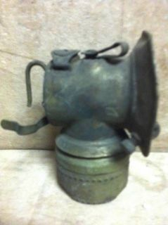 Vintage Safety Lamp Light Coal Mining Coal Miners Equipment Unsigned L K Now