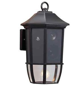 Acoustic Research AW851 Outdoor Wall Lantern and Wireless Speaker