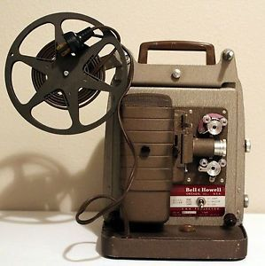 Vintage Movies 253AX Bell Howell 8mm Film Projector