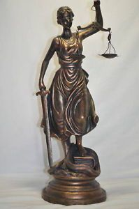Lady Justice Scales of Justice Statue