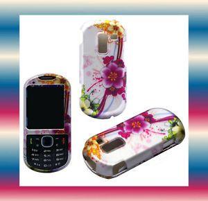 Y GNFLRS Straight Talk Samsung SCH R455C Slider Phone Cover Hard Shell Case Skin